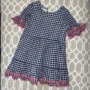 Girl's GAP plaid dress